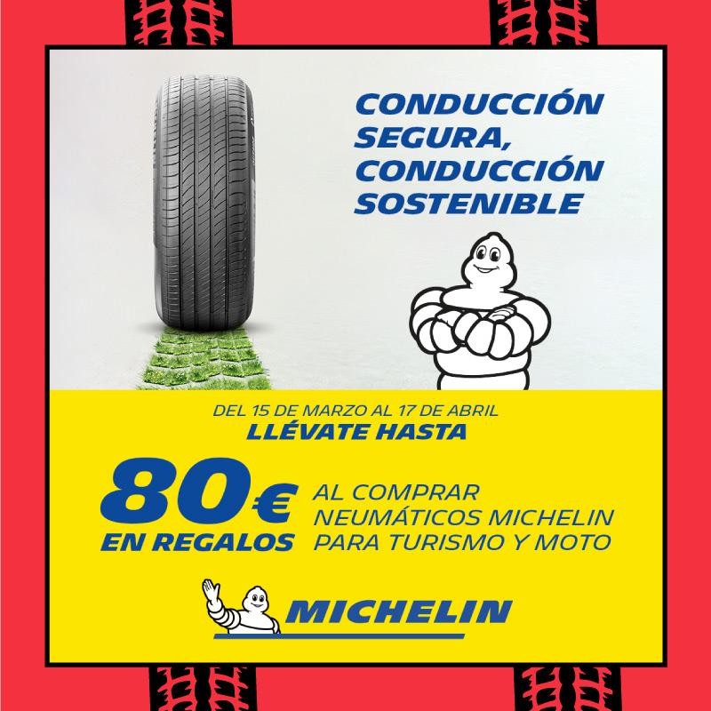 Regalos con neumáticos Michelin