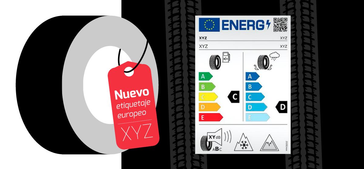 Nuevo etiquetaje de neumáticos