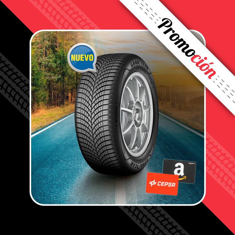 Cheques regalo con neumáticos Goodyear