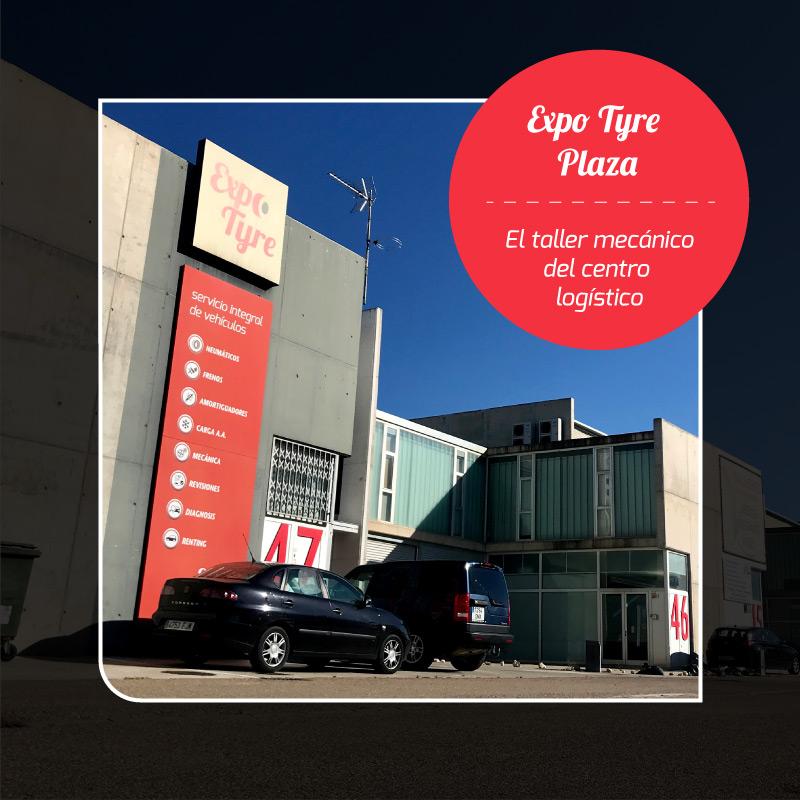 Expo Tyre es el taller mecánico de Plaza en Zaragoza